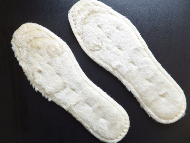 You should learn from the history! With the unexpected meaning of the insole