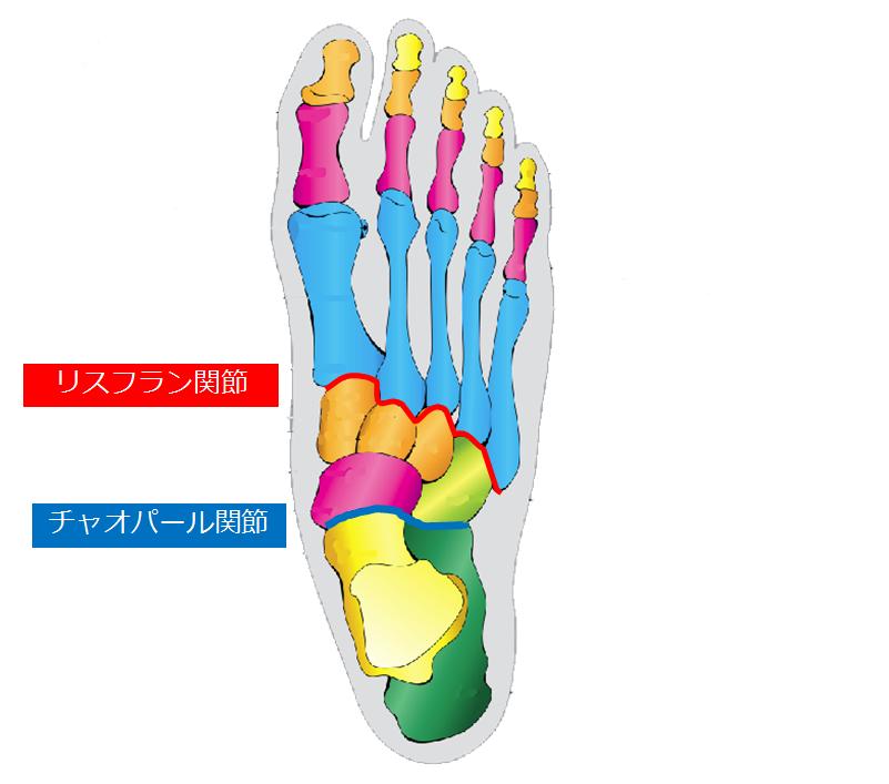 インソールによる足部の矯正について