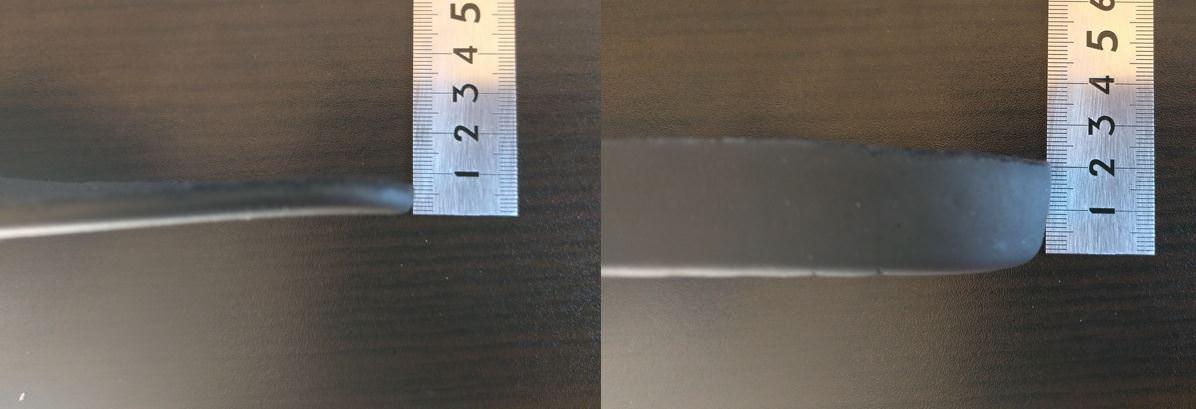 ドクターマーチンインソールの厚みはかかと2.0cm、つま先0.5cm