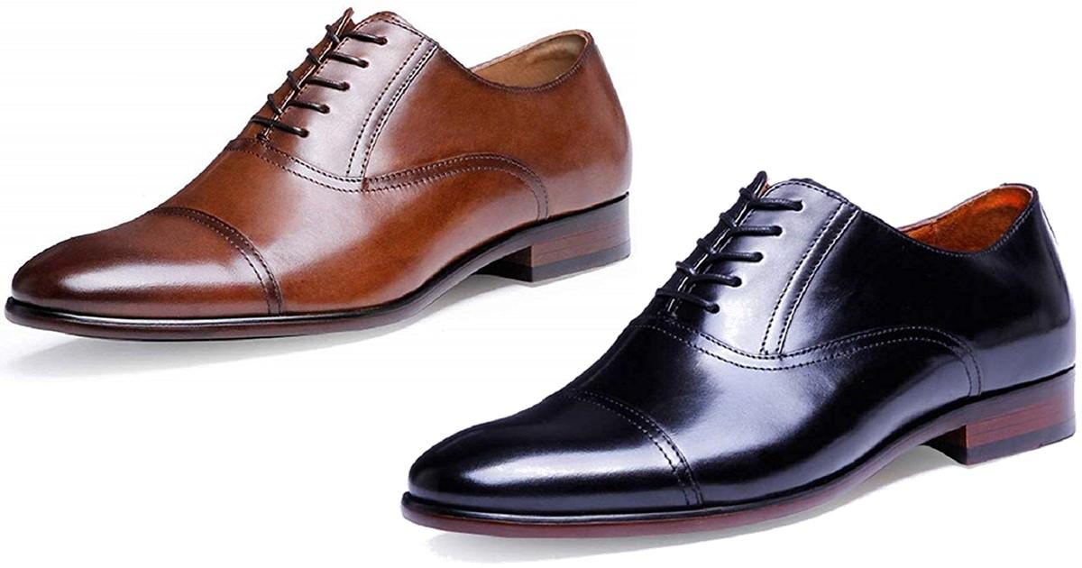 フォクスセンスの革靴のデザインは2種類