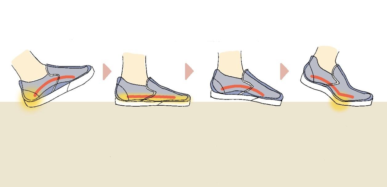 靴の親指に穴が開く理由