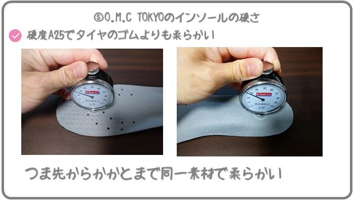 O.M.C TOKYOの硬さを検証